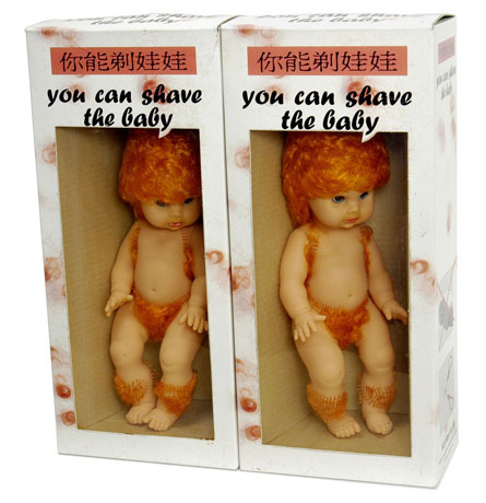 WTF shave a baby?