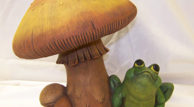 Frog and the Mushroom